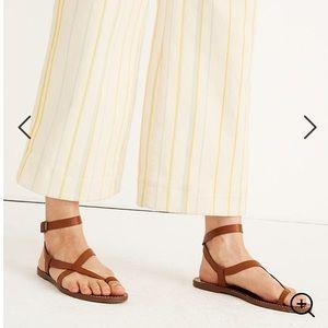 New Madewell Boardwalk Bare Sandal Sz 5.5